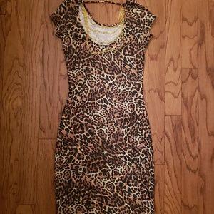 Dresses & Skirts - 🧡Cheetah Print Dress🧡